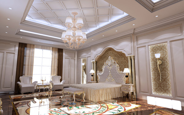 master bed room 3D