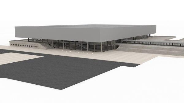 citycube berlin building 3D model
