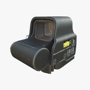 eotech exps3-0 scope 3D model