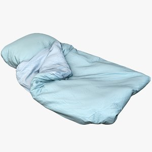 bedclothes bedding 3D model