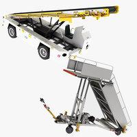3D model air truck tug 660