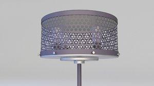 3D lamp floor loft