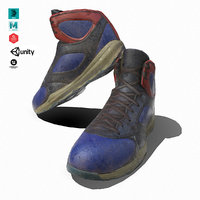 sneaker mesh pbr 3D model