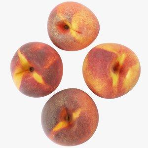 3D peaches 01-04 model