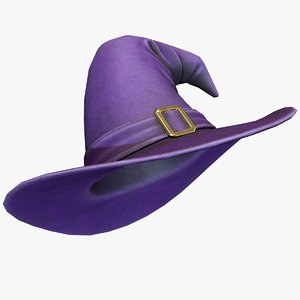 ready witch hat 3D model