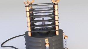 3D lamp steampunk