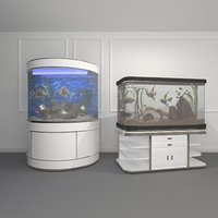 fish aquariums 3D