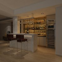 home bar 3D