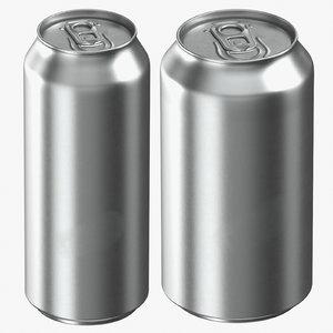 beverage king cans 3D model