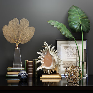 decorative set 3D