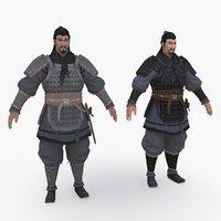 Medieval China character 005