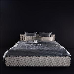 3D estetica majorka bed