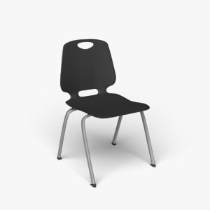 academic stacking chair model
