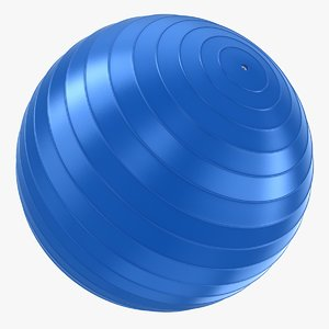 3D realistic yoga ball
