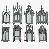 Gothic Windows Collection