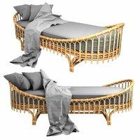 madison lounge chair rattan model