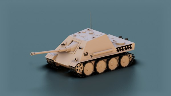 3D tank vehicle