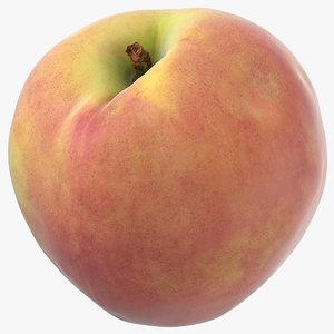 3D peach 01