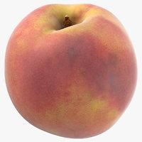 3D peach 05 model