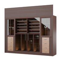 wine tasting cabinet