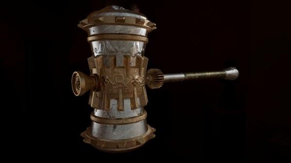 fantasy hammer 3D