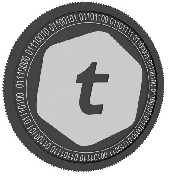 3D telcoin black coin
