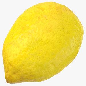 3D lemon 04