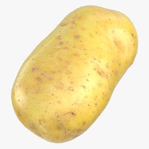 3D model potato clean ready 03