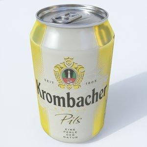 3D beer krombacher