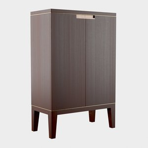 3D holly hunt lusitania cabinet model