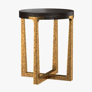 3D t-brace table model