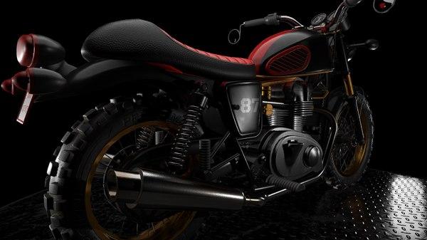 motorcycle vehicle 3D model