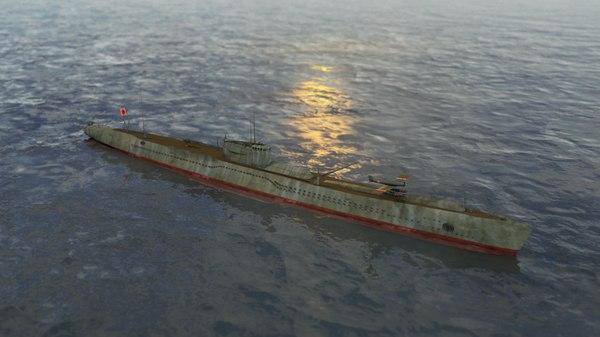 3D submarine class type otsu