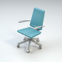 simple rolling chair