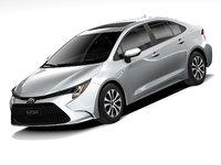 Toyota Corolla sedan hybrid US 2021