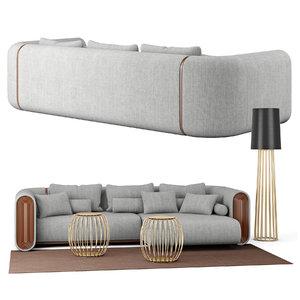 lamp sofa model