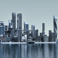 Futuristic City 04