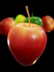 apple sweet 3D