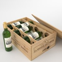 Chateau La Mission Haut-Brion Blanc bottle box