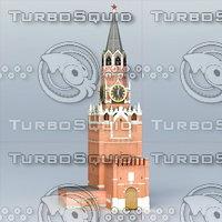 Kreml Tower Spasskaya