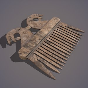 viking dragon comb model