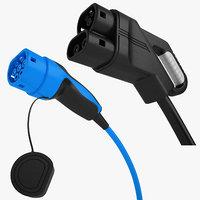 EV Charging Plug Collection 01