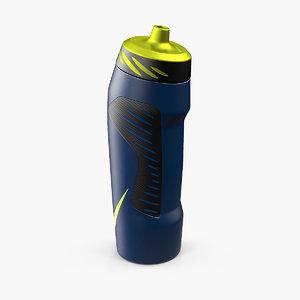 nike hyperfuel 946ml water bottle 3D model