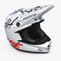 3D model motorcycle helmet bell moto