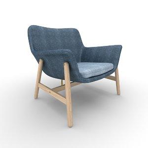 vedbo ikea furniture 3D model