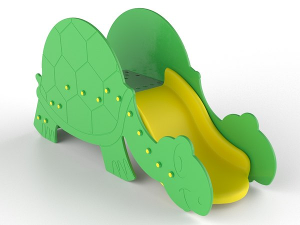 3D turtle playground model