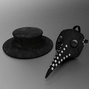 plague doctor s mask model