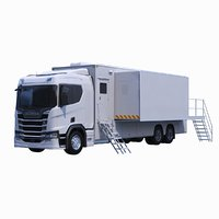 scania exhibition truck 3D