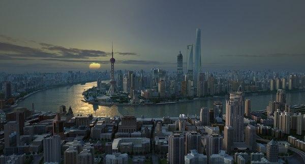 shanghai city model