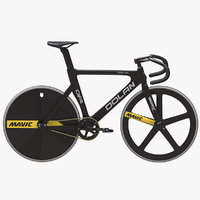 dolan df4 bike 3D model
